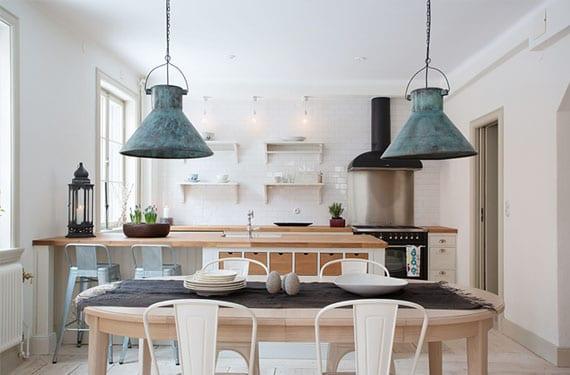 Lámparas colgantes de cocina