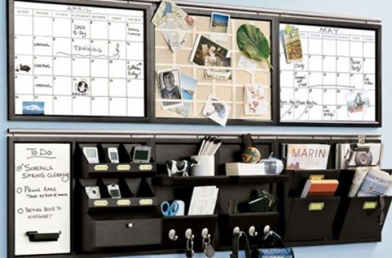 Planifica tu d a a d a con un organizador de pared - Organizador cajon oficina ...
