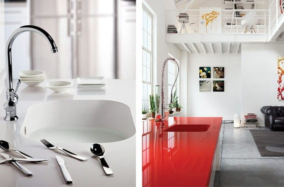 Materiales para tus encimeras de cocina for Material de cocina profesional