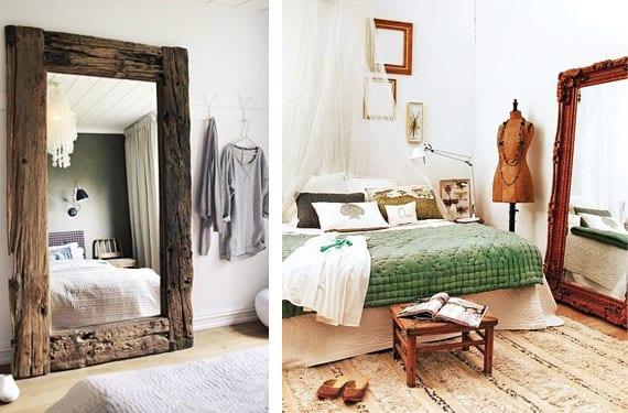 Espejos de pie habitación