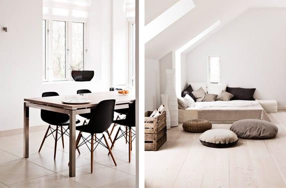 Interiores de una casa sueca