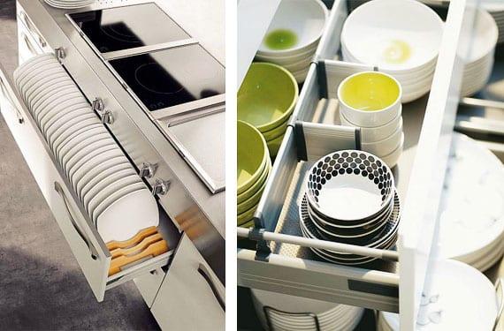 Organizadores de cajones para mantener el orden en la cocina for Separadores cajones cocina