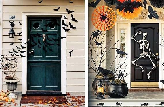 Como decorar tu puerta la noche de halloween for Decoracion de la puerta de entrada