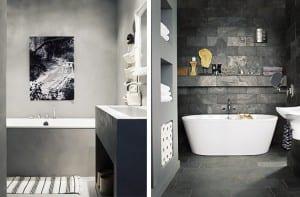 Cuartos de baño de hormigón