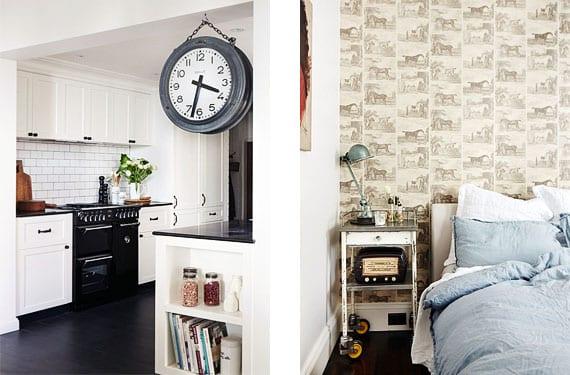 Una casa decorada con piezas de estilo industrial for Casas estilo vintage