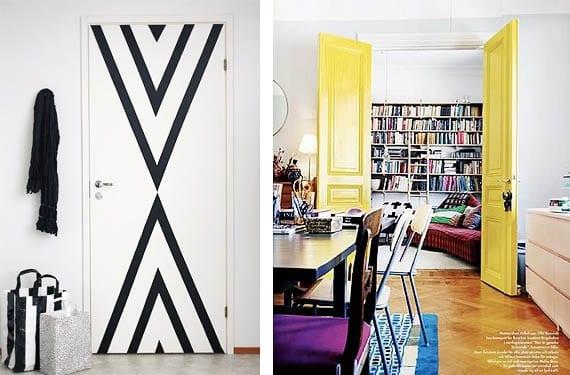 Puertas de color