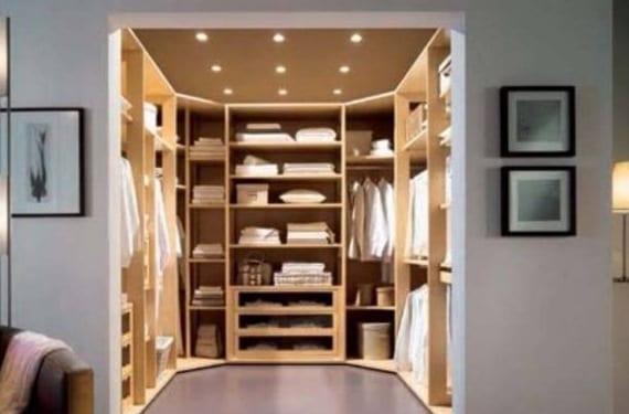 Cmo organizar un vestidor en el dormitorio