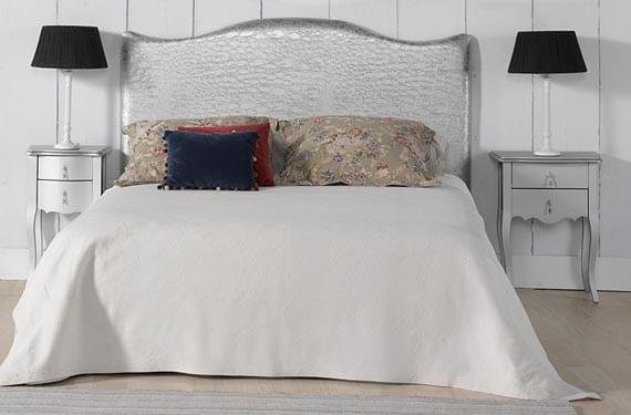 Los cabeceros de piel m s originales en tu dormitorio - Cabeceros de cama originales pintados ...