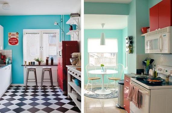 Decora Tu Cocina Con Color Turquesa