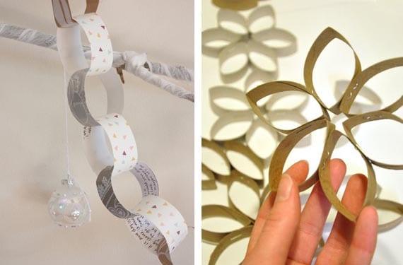DIY de Navidad con papel