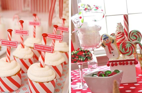 Mesas dulces de Navidad