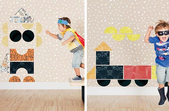 Papeles pintados Tres Tintas Barcelona