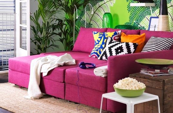 Sofá de colores