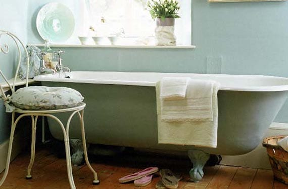 Bañeras de estilo vintage