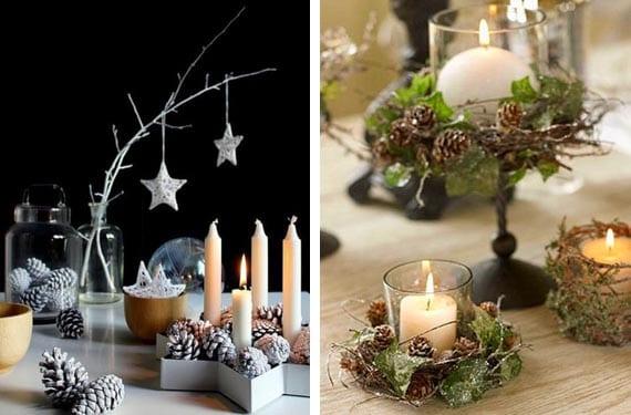 Hacer Con Pi Ef Bf Bdas Decoraciones Para Navidad