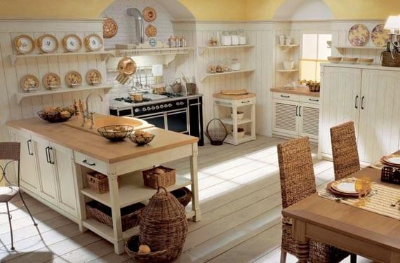 Cocinas Casa De Campo | Cocinas Para Una Casa De Campo