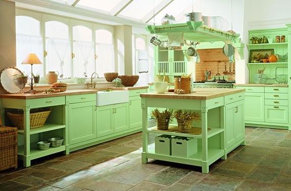 Cocinas para una casa de campo - Muebles casa de campo ...