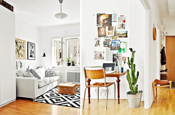 Claves para sacar partido a un apartamento peque o - Apartamentos pequenos decoracion ...