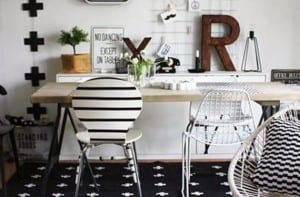 Decorando con letras