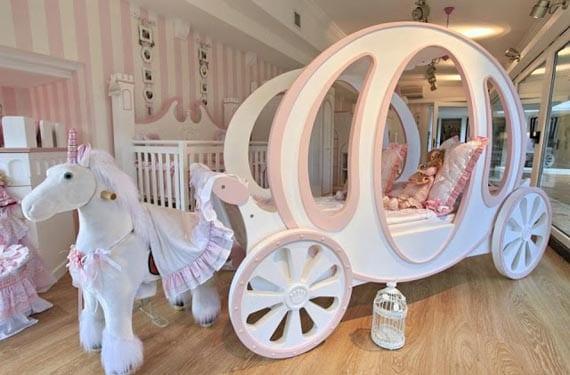 Dormitorios originales con carroza