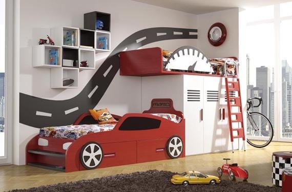 Dormitorios originales de coches