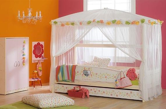 Dormitorios originales de princesa