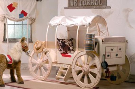 Dormitorios originales del oeste