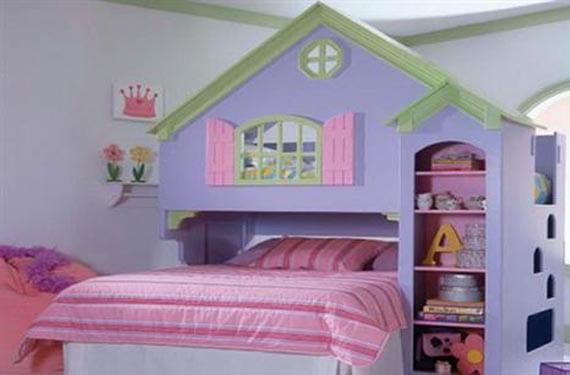 Dormitorios originales para niñas