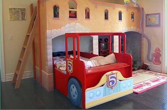 Dormitorios originales de niños
