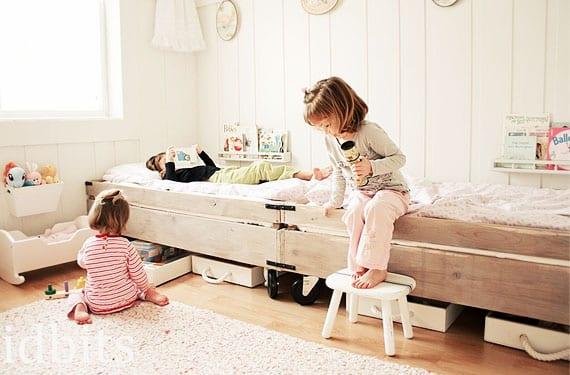Dormitorio para niños compartido