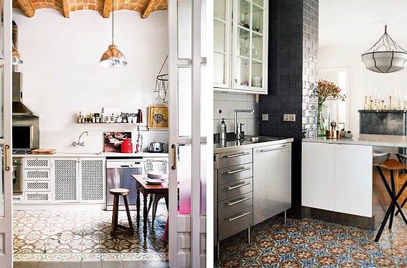 Mosaico hidr ulico para decorar los suelos de tu cocina for Pavimentos para cocinas