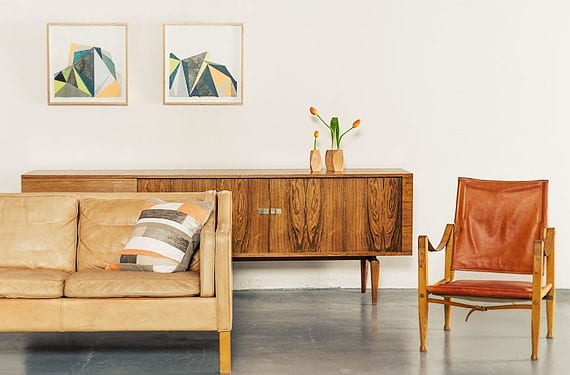 Muebles de madera salón