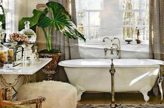 Plantas para un baño pequeño