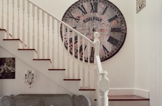 Relojes vintage para un estilo industrial - Relojes para decorar paredes ...