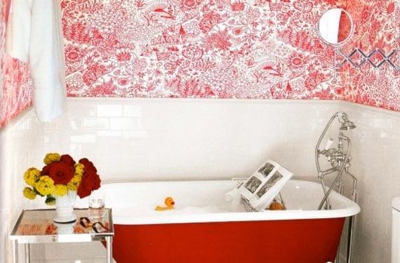 Toile de Jouy en rojo