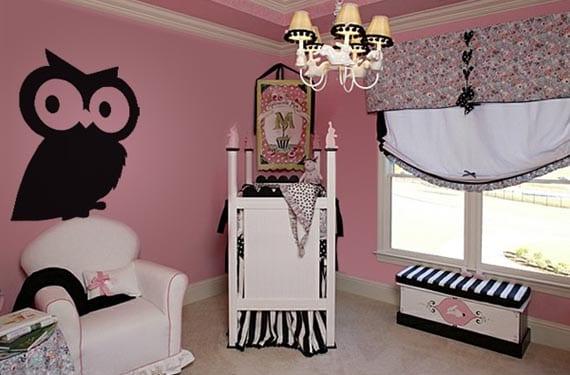 Vinilos divertidos en dormitorios infantiles