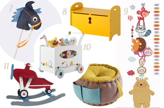 Accesorios para decorar cuartos infantiles