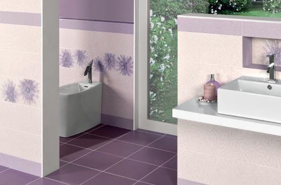 Baños en púrpura
