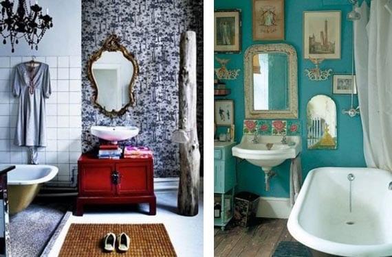 Espejos vintage para el ba o for Espejos decorativos vintage