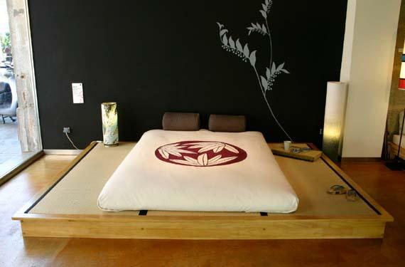 Dormitorios con estilo japon s for Dormitorios orientales
