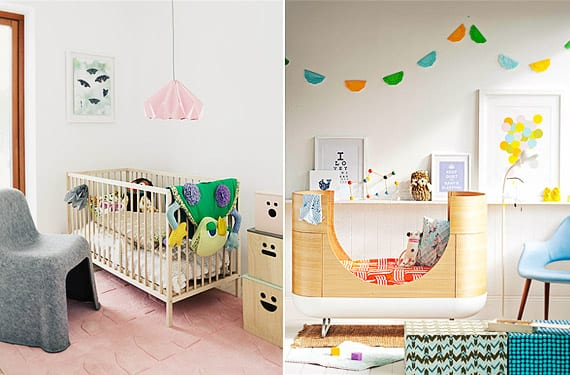 Propuestas de decoraci n para la habitaci n del beb - Ideas para decorar dormitorio de bebe ...