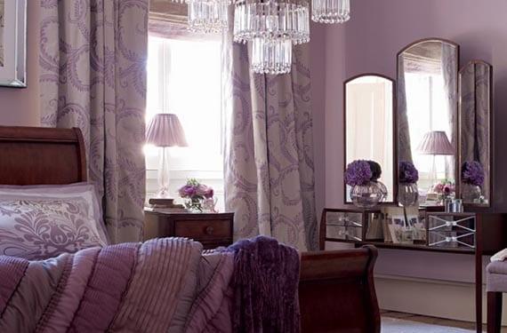 Orquídea Radiante en el dormitorio