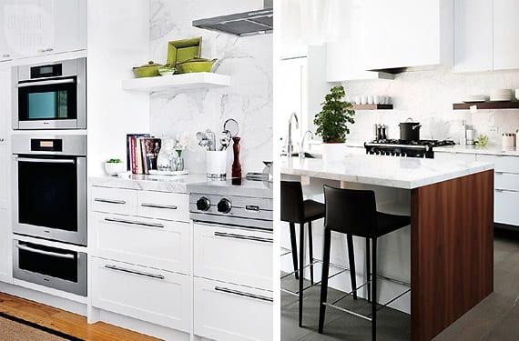 Frentes de cocina en m rmol vers tiles y elegantes for Marmol de cocina precio