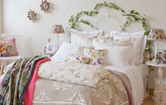 Colección de primavera en la habitación