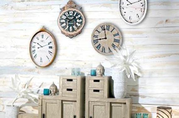 Decora tus paredes con relojes for Relojes decorativos para salon