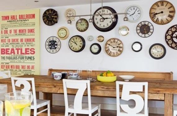 Relojes en estilo industrial