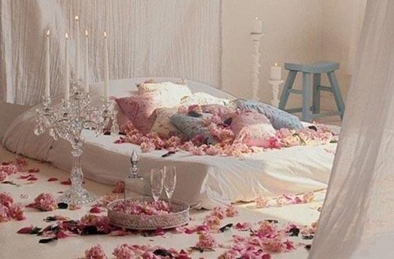 San Valentín en el dormitorio