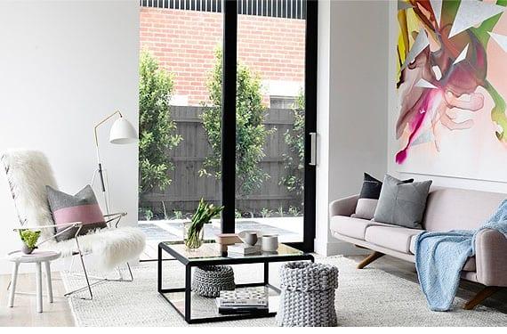 Apartamento moderno y femenino