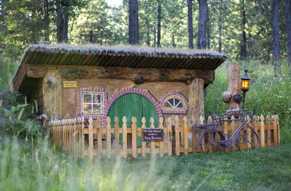 Auténtica casa hobbit