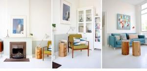 Casa de estilo escandinavo-salón